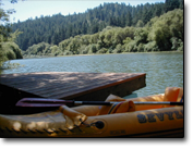 Dock on Russian River